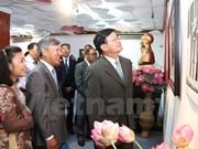 越南外交部门成立70周年图片展在老挝举行