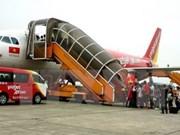 越捷航空公司跻身世界增长率最佳航空公司前三名之列