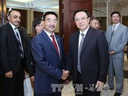 哈萨克斯坦共产人民党代表团访问越南