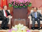越南国会主席阮生雄会见欧洲议会国际贸易委员会主席