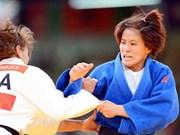 越南柔道运动员参加2015年世界柔道锦标赛