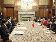 加强越南国会与日本众议院之间的合作