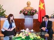 以色列副外长霍托夫利访问越南