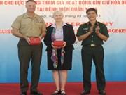 越南努力提高参加联合国维和力量的英语水平