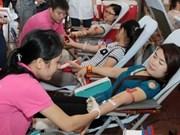 《2015年志愿无偿献血节》在越南兴安省正式启动