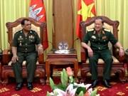 越柬军队加强机要工作的合作