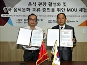 韩国与越南加强饮食文化交流