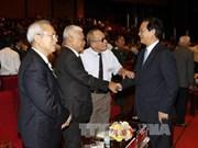 阮晋勇总理出席政府办公厅传统日70周年纪念典礼