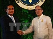 菲律宾和泰国加强双边合作关系
