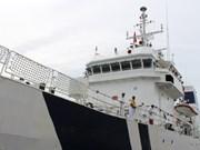 越南与印度海警配合举行海上搜救联合演练