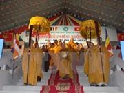 越南与老挝两国佛教协会加强合作