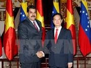 越南政府总理阮晋勇会见委内瑞拉总统尼古拉斯•马杜罗