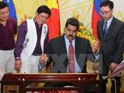 委内瑞拉总统马杜罗对越南进行的正式访问圆满结束