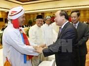 越南党、政府一直为各宗教按法律规定平等发展创造便利条件