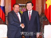 老挝国家副主席:越老特殊关系如漆似胶、世所罕见的