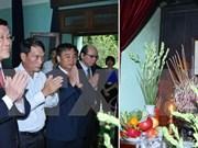越南国家主席张晋创向胡伯伯敬香