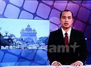 老挝国家电视台越南语新闻节目正式开播