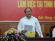 越南政府副总理阮春福莅临得农省调研