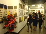 2015年越南-韩国美术交流展在河内开展