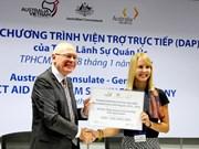 澳大利亚拟向越南中部和南部提供35.5万澳元的直接援助