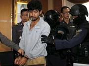 曼谷爆炸案首名嫌犯承认罪