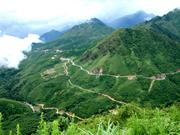 黄连山山口被公认为越南国家级风景名胜区