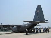 美军遗骸移交仪式在越南岘港市举行