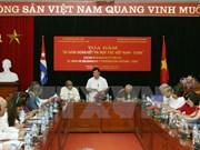 越南与古巴努力推动两国传统关系深入务实发展