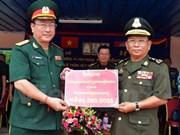 越南国防部援建柬埔寨皇家军队军官培训学校办公楼