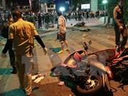 泰国警方:曼谷爆炸案主犯已逃往孟加拉国