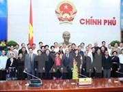 阮春福副总理会见北件省少数民族同胞村寨长老、村长代表团
