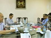 越祖阵中央委员会主席阮善仁希望世行继续向越南提供支持