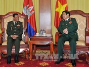 柬埔寨国防部国务秘书率团访问越南