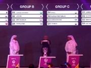 2016年亚洲U23足球青年锦标赛决赛阶段分组抽签结果揭晓