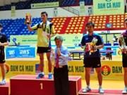 第33届《人民报》全国乒乓球锦标赛落下战幕