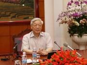 越共中央总书记阮富仲:积极主动推动越日关系走向深入