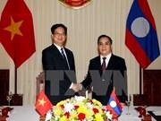 阮晋勇总理访老之行重申两国加强越老特殊团结关系的高度决心