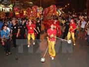 2015年河内古街中秋节拉开序幕