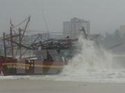 3号台风变弱成了热带气压中部地区继续发生雷雨天气