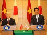 日本媒体高度评价越日两国合作关系