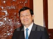 越南国家主席张晋创即将出席联合国峰会和对古巴进行国事访问