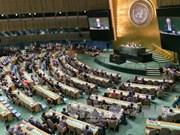 张晋创主席出席联合国发展峰会致力于展开越南和平合作与可持续发展的外交政策