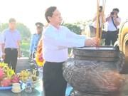 越南政府总理阮晋勇在广治省广治古城进香