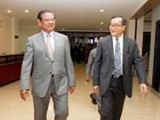柬埔寨人民党和救国党领导就选举法修改问题进行磋商