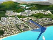 缅甸迪洛瓦经济特区项目第一期工程正式投入使用