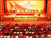 苏辉若同志出席越共北宁省第十九次代表大会