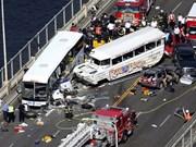 美国西雅图旅游车相撞:4名越南留学生受伤