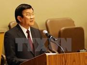 张晋创主席:越南一直把促进性别平等及妇女进步工作放在首位