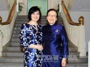 加强越老两国外交部的女外交官合作关系