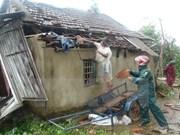 林同省遭暴雨龙卷风袭击60间民房不同程度受损